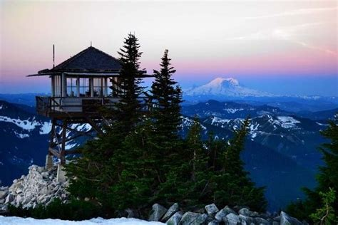 granite mountain lookout photo by us forest service nw