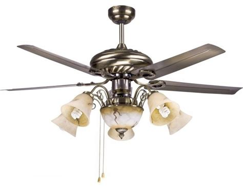 traditional large decorative ceiling fan lighting fixtures
