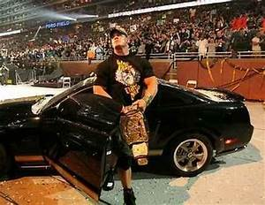 John Cena With His Car & His Tittle - WWE Superstars, WWE ...