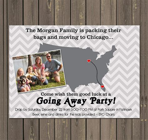going away invitation template 13 farewell invitation templates sle templates
