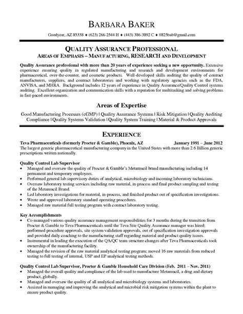 Qa Resume by Risk Manager Resume