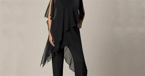 3 Pieces Casual Wear For Women 2015 Black Mother Pant