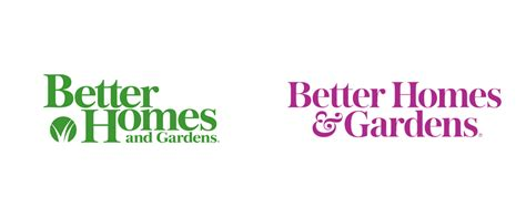 better homes and gardens brand new new logo for better homes gardens by lippincott