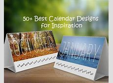 50+ Best Calendar Designs for Inspiration on Behance