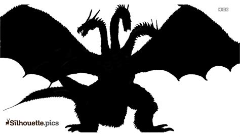 king ghidorah silhouette images