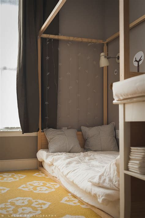 The Floor Beds by A Shared Bedroom With Diy Montessori Floor Beds