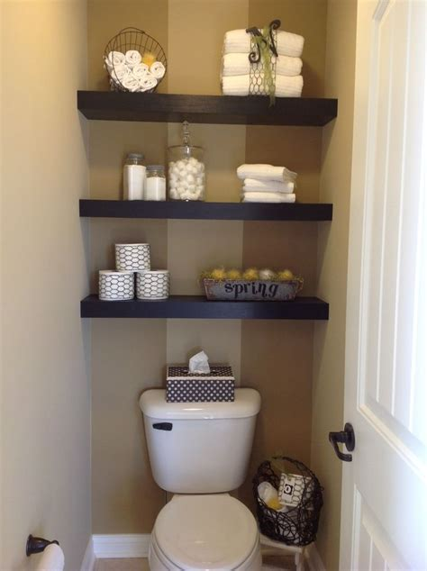 Bathroom Shelf Ideas by Floating Shelves Above Toilet Floating Shelving In Mb