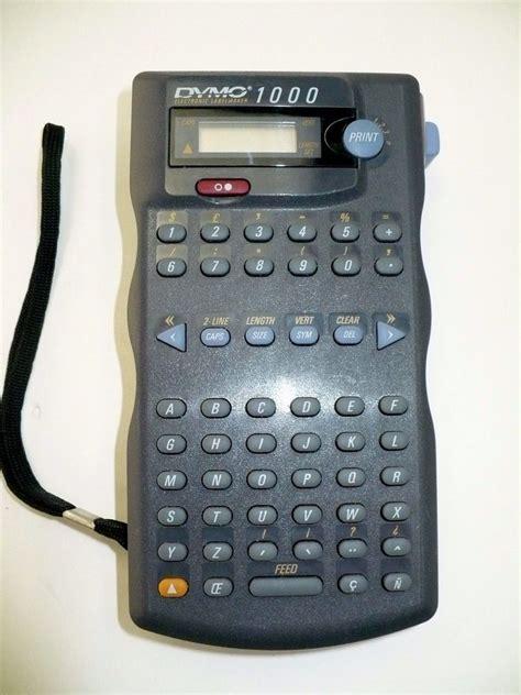dymo electronic labelmaker 1000 esselte ebay