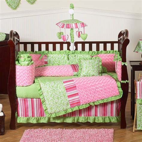 Enjoy free shipping on most stuff, even big stuff. Sweet Jojo Designs Olivia 9 Piece Crib Bedding Set ...