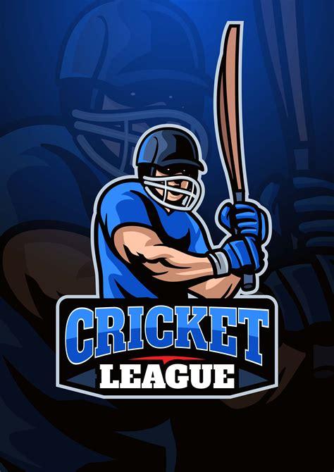 Cricket Player Logo 366837 Vector Art at Vecteezy