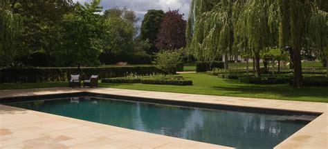 Garden Pool : Twickenham Swimming Pool-randle Siddeley