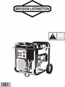 Briggs  U0026 Stratton Portable Generator 030248