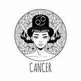 Zodiac Coloring Printable Signs Calendar 30seconds Cancer Mom Horoscope Simbolo Colorare Materiale Ragazza Adulta Segno Illustrativo Zodiaco Cancro Dello Libro sketch template