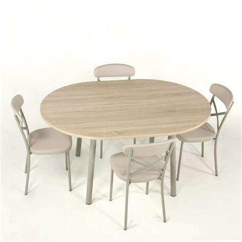 table de cuisine extensible en stratifié elli 4 pieds