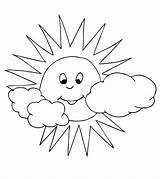 Sun Coloring Pages Little Interesting Printables Momjunction sketch template