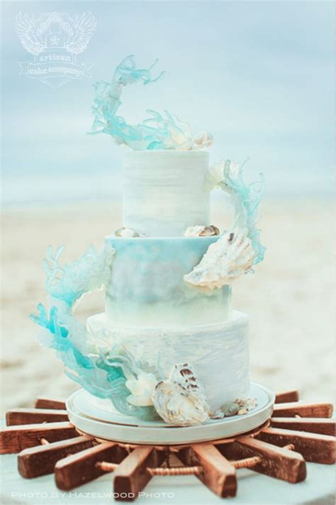 beach wedding cakes   wow  guests check