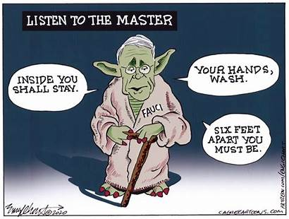 Fauci Cartoons Cartoon Dr Political Take Listen