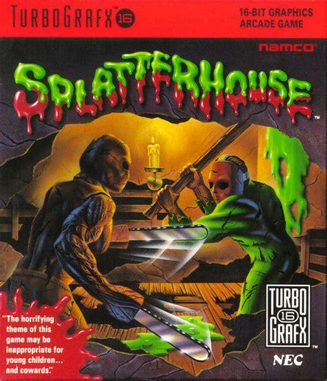 Splatterhouse For Arcade 1988 Mobygames