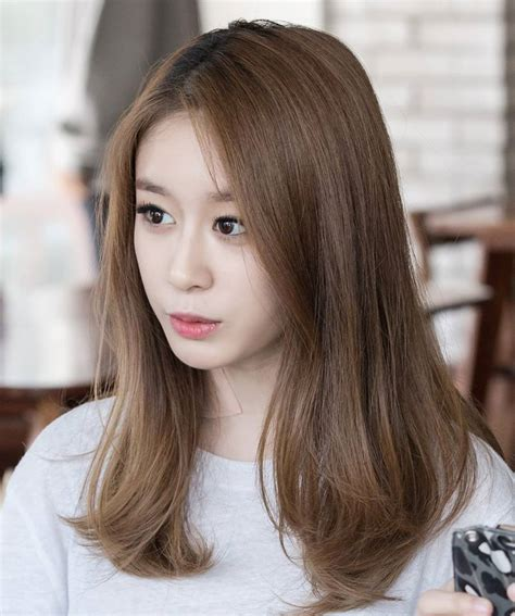 Coloring Hair Korean by T Ara Jiyeon T Ara Jiyeon Hair