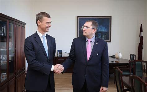 Satiksmes ministrs Tālis Linkaits tikās ar Itālijas ...