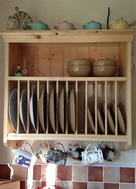 wood plate rack kitchen wall units plate racks rustic plates