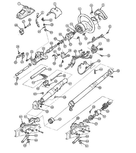 1992 Ford E350 Transmission Diagram by How Do I Replace The Shift Cable Assembly On My 1992