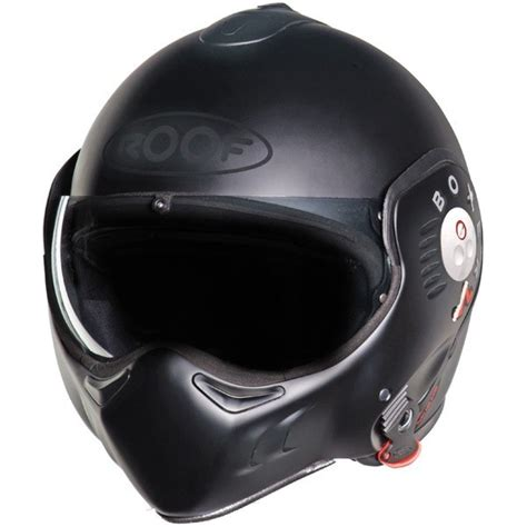 casque roof boxer v8 noir mat casque modulable