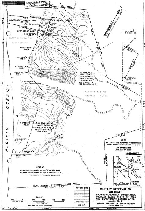 Wildcat Military Reservation (including Fire Control