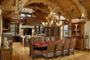 kitchen island pot rack lighting rustic kitchens design ideas tips inspiration