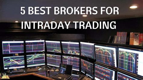 best broker for trading 5 best brokers for intraday trading in india rankings
