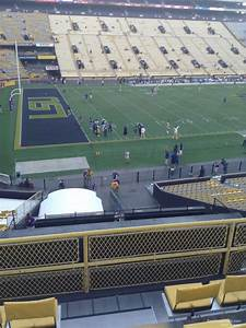 Lsu Tiger Stadium Seating Chart View Tiger Stadium Section 411 Rateyourseats Com