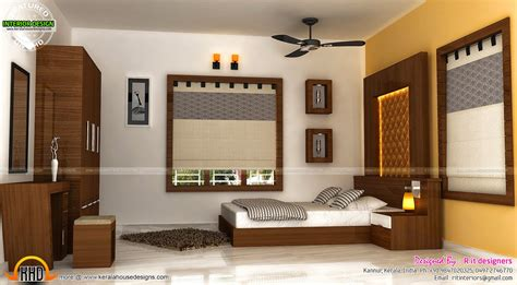 interior decoration in home staircase bedroom dining interiors kerala home design