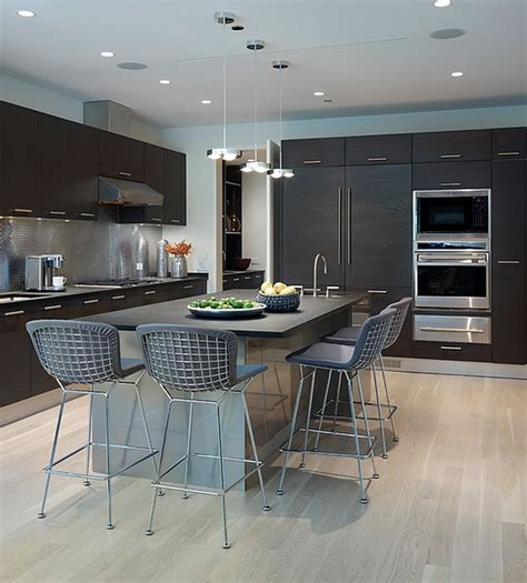 contemporary kitchen counter stools 10 trendy bar and counter stools to complete your modern 5706