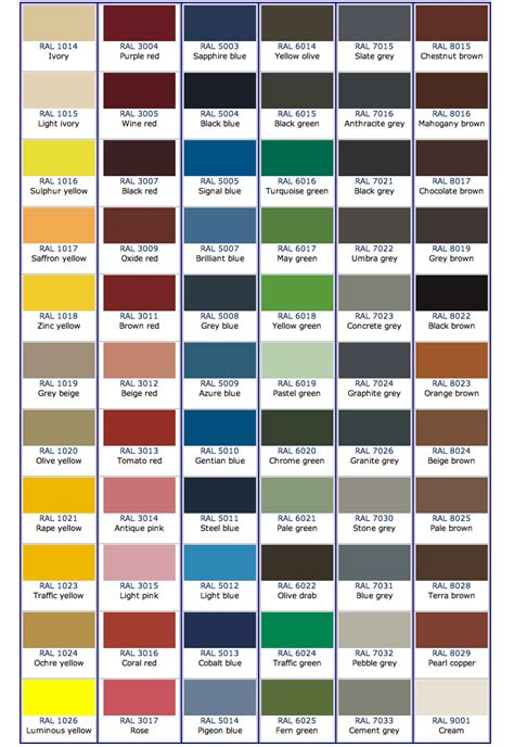 Ncs Farbtabelle ncs in ral arpa for you brochure ncs ral color belysning m rk stue