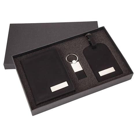 travel set gift box  luggage tag keyring  passport