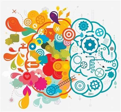 Brain Creative Clipart Vector Clip Creativity Transparent