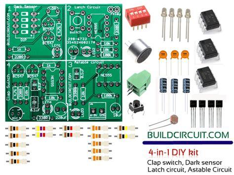 Diy Kit Dark Sensor Latch Circuit Astable