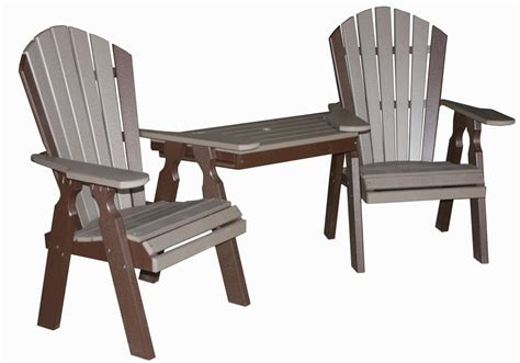 creekside classic dining tete a tete table and chair set