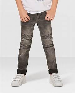 Biker jeans jungen 164