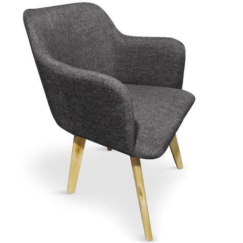 chaise tissu gris fonc 233 kandi lestendances fr