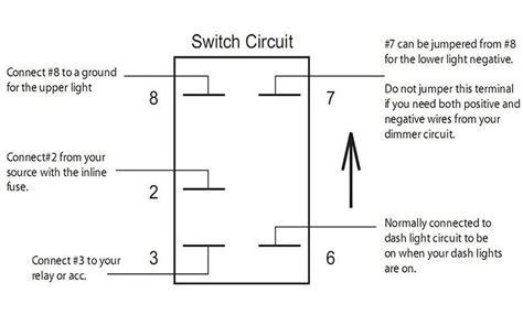 12v on off rocker toggle switch laser blue led 5 pins for