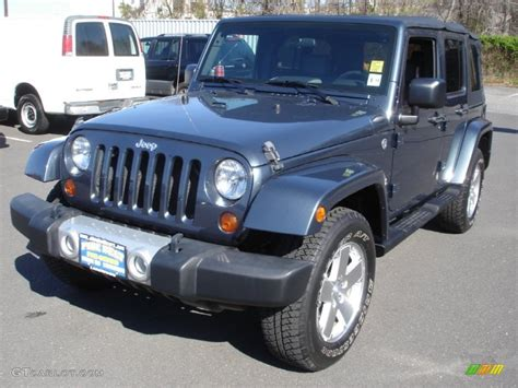 jeep metallic 2008 steel blue metallic jeep wrangler unlimited sahara