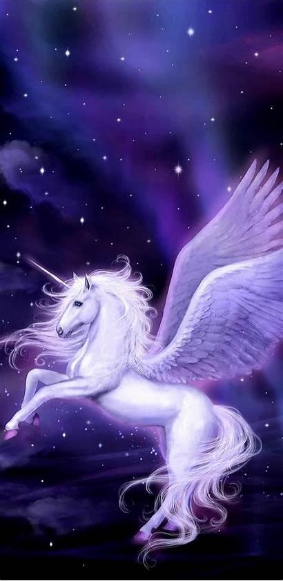 Unicorns Fantasy Unicorn Wallpapers Pretty Guardian Wings