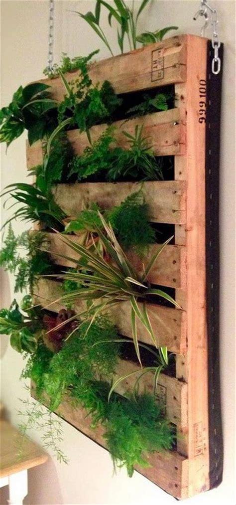 diy pallet planters design diy  crafts