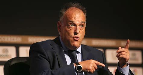 La Liga President Javier Tebas Wants Neymar Return to ...