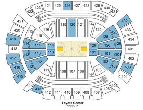 Rockets Tickets Toyota Center by Toyota Center Tickets Preferred Seats