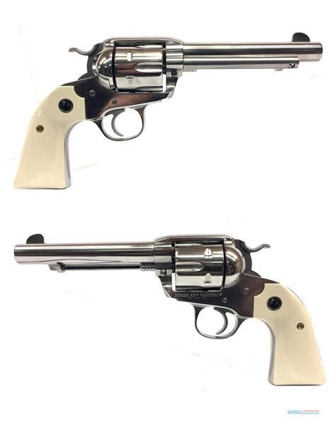 ruger new vaquero 357 magnum w white grips for sale
