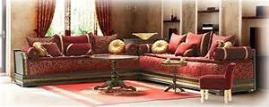 Banquette Salon Marocain : banquette en mousse pour salon marocain mousse plastique ~ Teatrodelosmanantiales.com Idées de Décoration