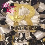 build   homecoming mum  garter mums  kisses