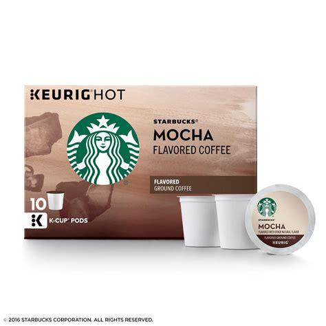 Starbucks cinnamon dolce flavored k cups. Starbucks Mocha Flavored Medium Roast Single Cup Coffee ...